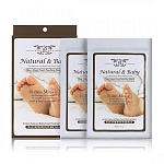 Пилинг для ног natural baby foot peeling mask / sheet