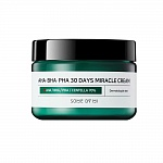 Крем с кислотами SOME BY MI AHA-BHA-PHA 30DAYS MIRACLE CREAM(50 мл)